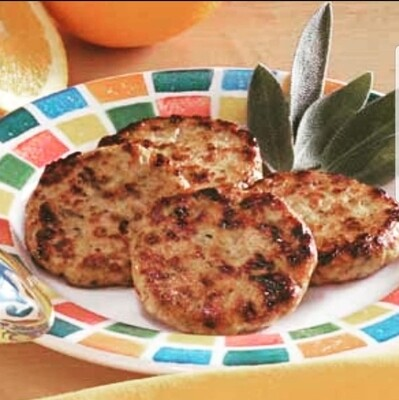 Pork Breakfast Sausage Patties - mild, 1 lb