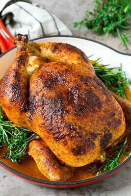 Soy Free, Pastured Chicken - Whole