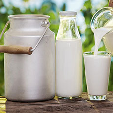 Pastured Raw Whole Cow's Milk, for Pets