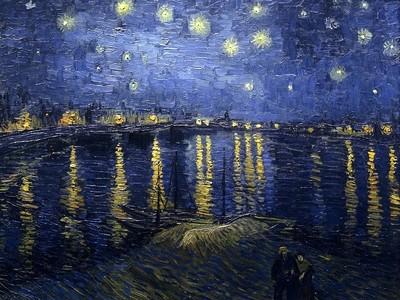 Starry Night over the Rhone-VanGogh