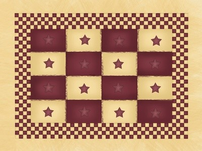 Americana Checkers