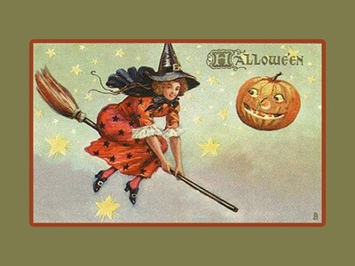 Witch on Broom