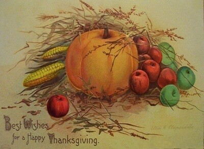 Best Wishes Thanksgiving