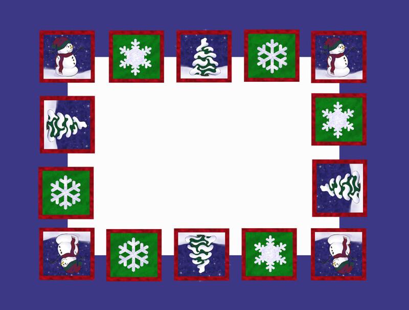Snowman Tiles