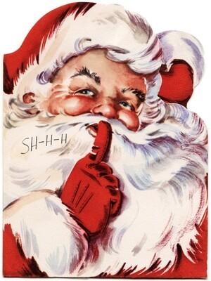 Santa Hush Rectangle