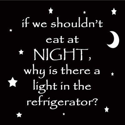 Eat at Night