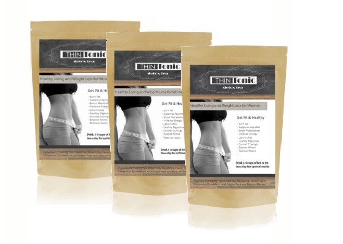 ThinTonic Detox Tea ORIGINAL TRIPLE Bundle (Buy 2 Get 1 Free)