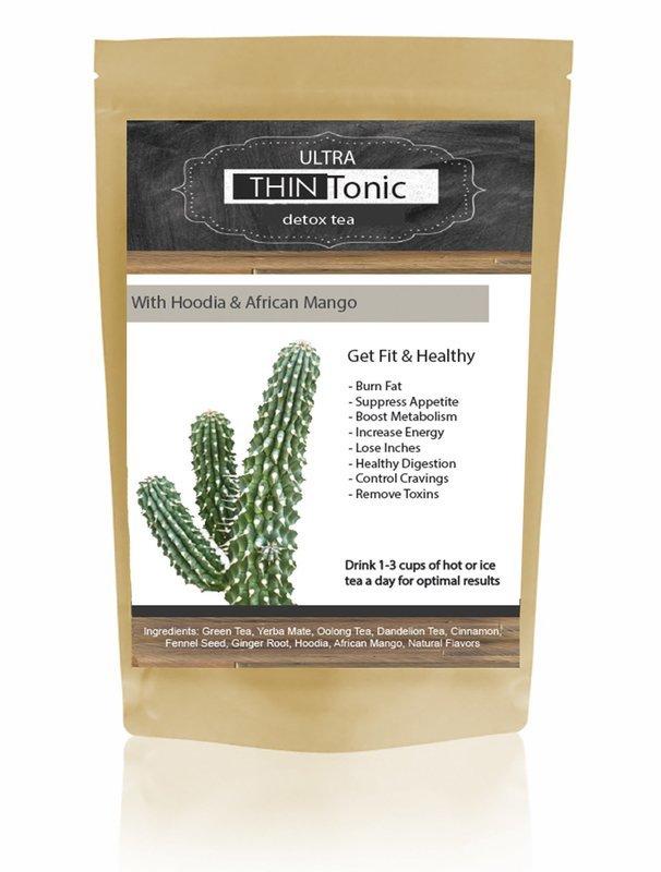 Ultra THINTonic Detox Tea with Hoodia & African Mango