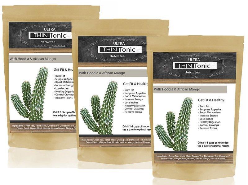 ULTRA ThinTonic Detox Tea TRIPLE PACK (Buy 2 get 1 Free)