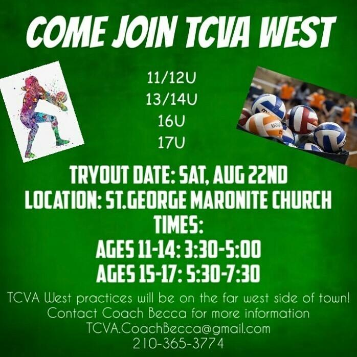 TCVA West Down Payment