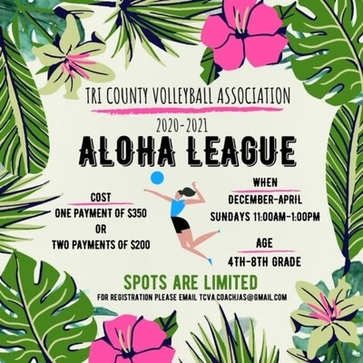 Aloha League Full Payment