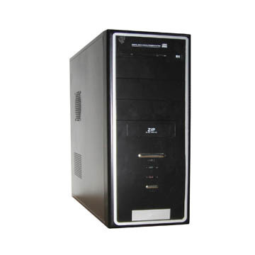CAJA MEDIA TORRE DX-TM637C SGCC 0.5MM FUENTE PODER 450W 24PIN SATA RMA