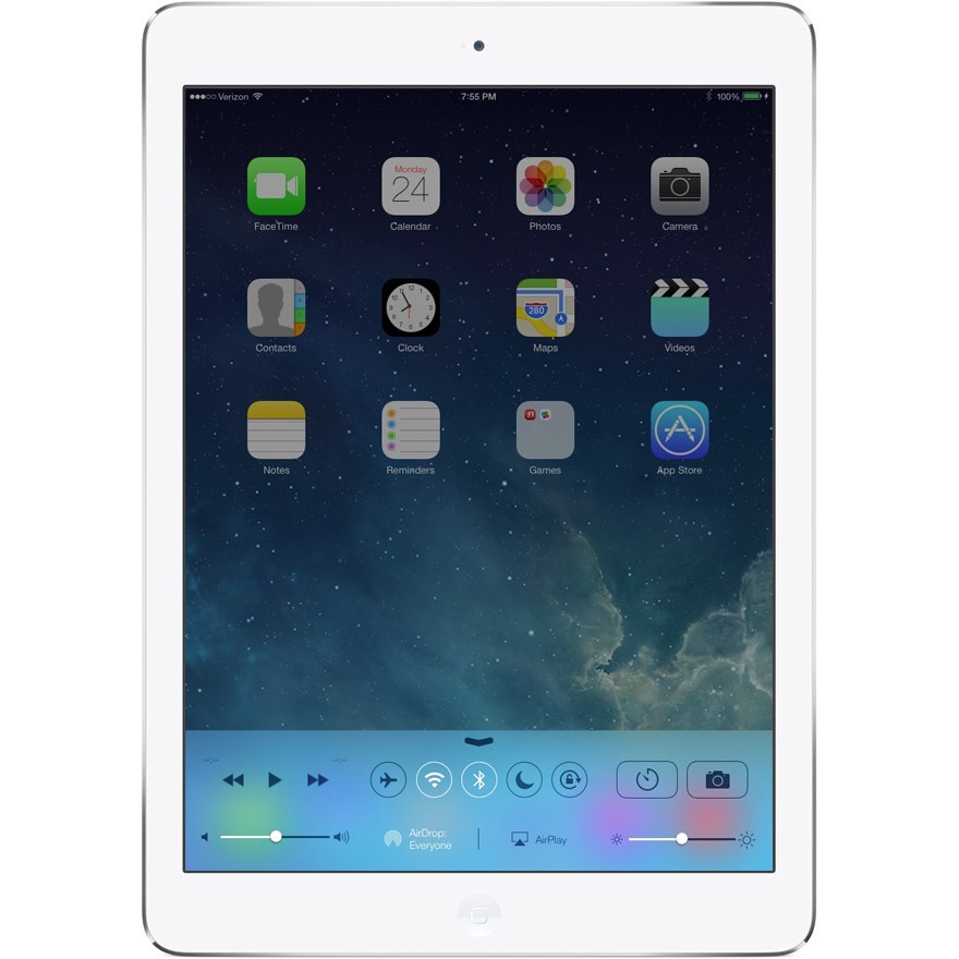 "Apple ipad Air retina 9.7"" WiFi 4G 16Gb gris"