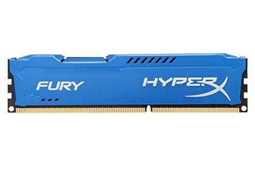 MEMORIA DDR3-1600 PC3-12800 1600MHZ KINGSTON 4GB 1X4GB HYPERX FURY BLUE CL10 HX316C10F/4