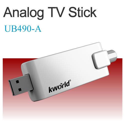 SINTONIZADOR EXTERNO USB TV Y RADIO KWORLD UB490-A