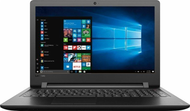 "Lenovo 110-15ISK i3-6100U 6Gb 15.6"" 1Tb Quemador dvd HD 520 Windows 10"