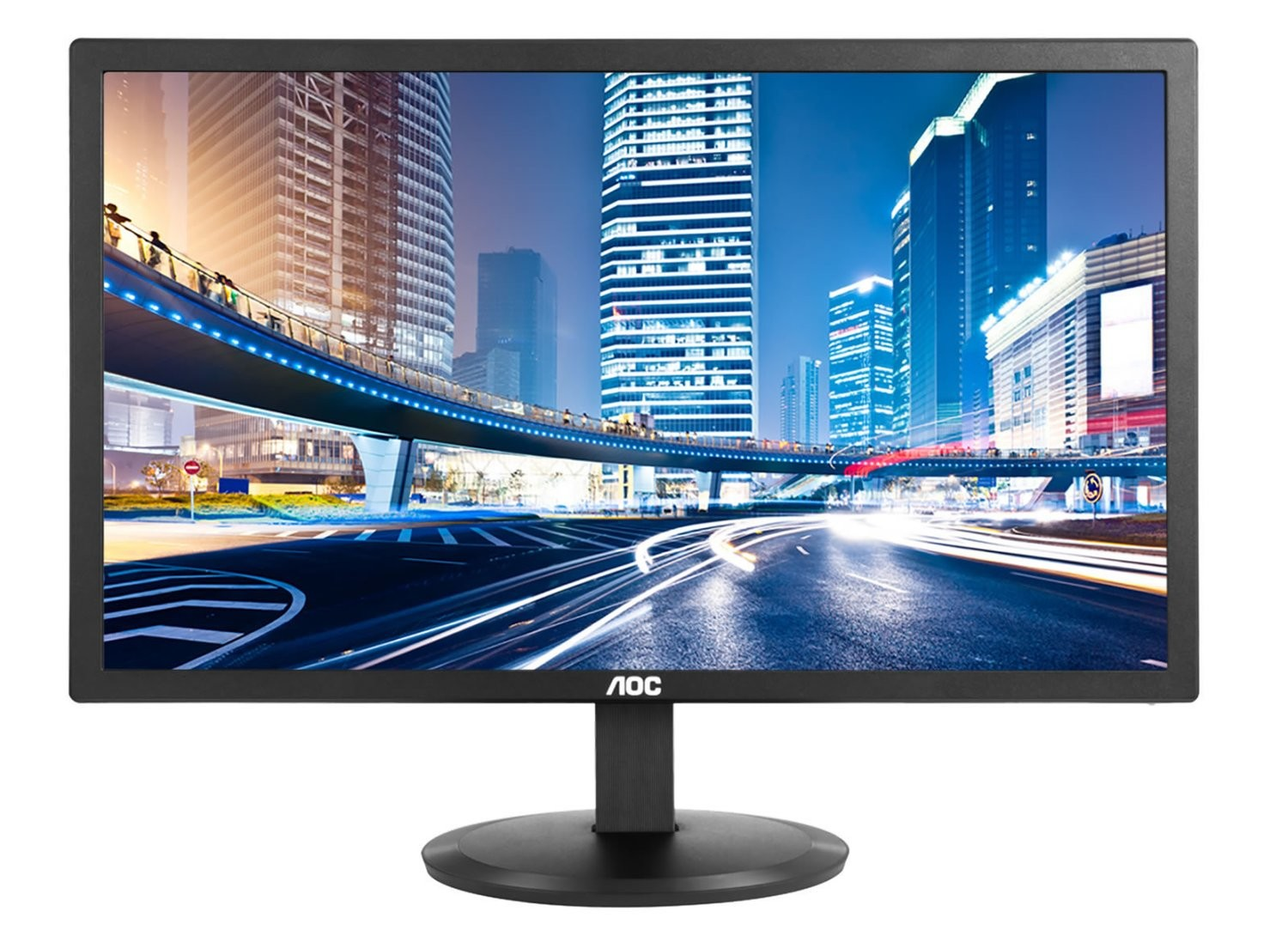 MONITOR LED 19.5IN IPS AOC I2080SW 1440X900 60HZ 178/178 GRADOS 6MS 1000:1 TIPICA 20000000:1 DCR 250CM/M2 VGA VESA 100X100 21W KENSINGTON LOCK