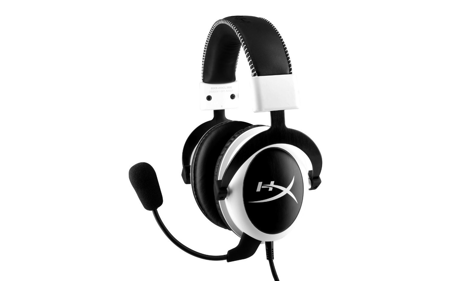 AUDIFONO GAMER KINGSTON HYPERX CLOUD GAMING BLANCO KHX-H3CLW