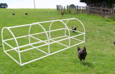 Arched 3 feet X 9 feet Chicken Coop