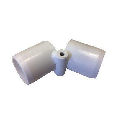 Inline Folding PVC Coupling 3/4 inch