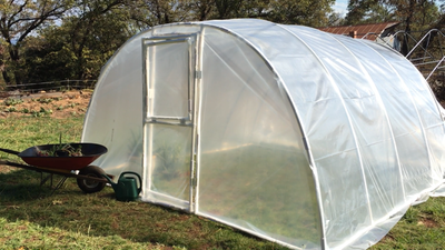 Arched Greenhouse 1 inch (FITTINGS & CLAMPS ONLY)