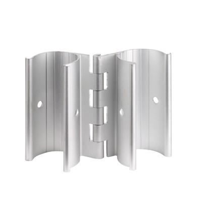 3/4 inch Aluminum Snap-On Hinge