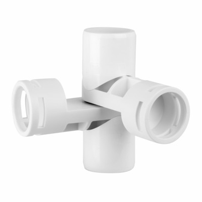 4-Way Adjustable Joint Fitting 1 inch