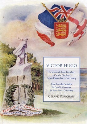 Victor Hugo: the statue by Jean Boucher in Candie Gardens