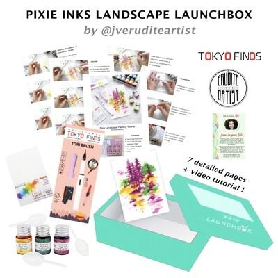 Launchbox : Pixie Inks Landscape by Janus