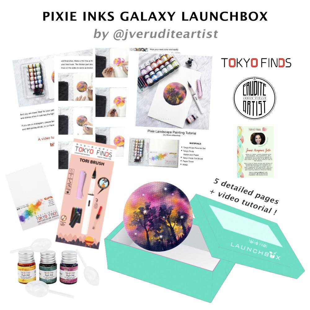 Launchbox : Pixie Inks Galaxies by Janus (Digital)