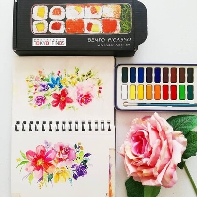 Summer Floral Painting Workshop with Thea (materials not included)