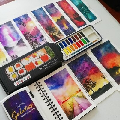 Galaxy Landscape Workshop with Thea (materials not included)