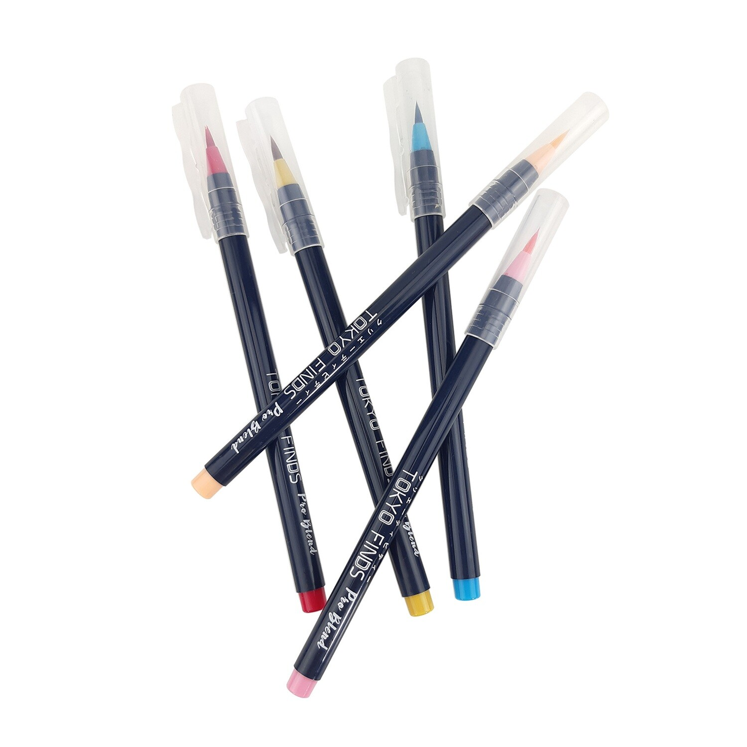 Tokyo Finds Pro Blend Calligraphy Watercolor Brush Pen - Spring Set