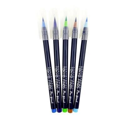 Tokyo Finds Pro Blend Calligraphy Watercolor Brush Pen - Summer Set