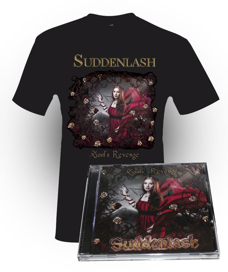 """Soul's Revenge"" Signed Album + T-Shirt (Unisex) - 10% Discount"