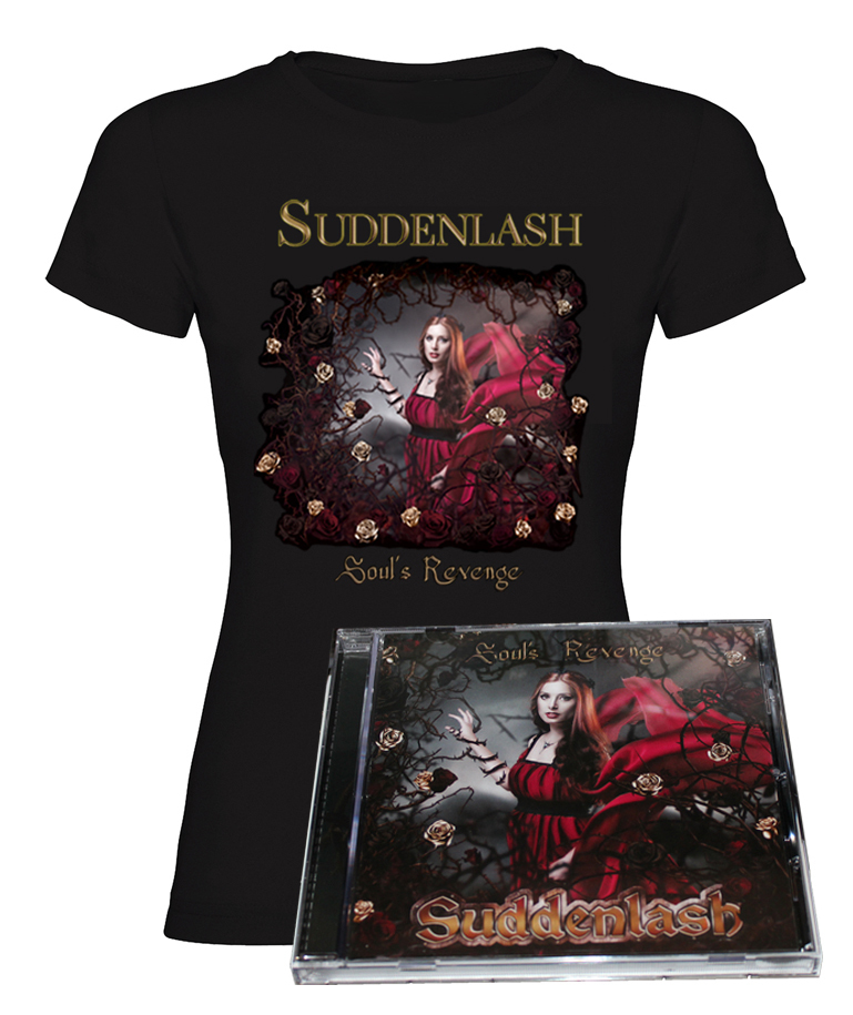 """Soul's Revenge"" Signed Album + T-Shirt (Girl) - 10% Discount"