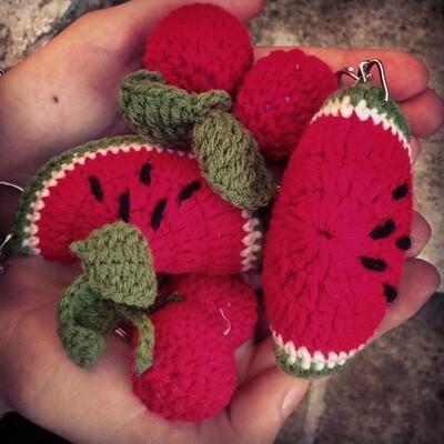 Fruit key ring