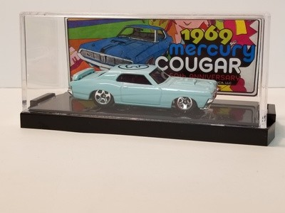 1969 50th Anniversary Collectible Die Cast Cougar (Light Blue)