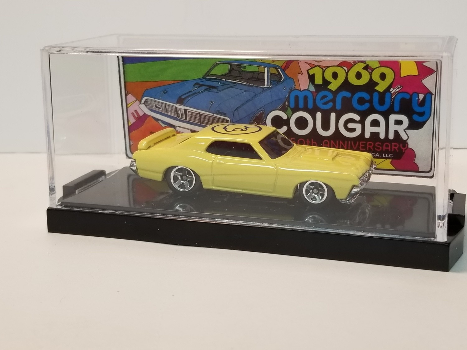 1969 50th Anniversary Collectible Die Cast Cougar (Yellow)