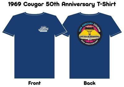 1969 Cougar 50th Anniversary Shirt