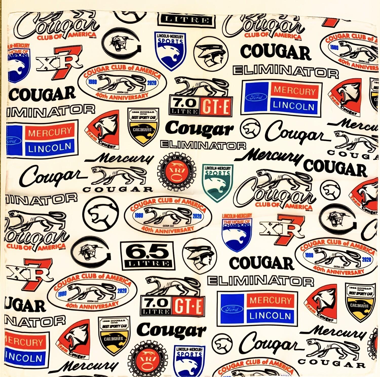 CCOA 40th Anniversary Cougar Bandana