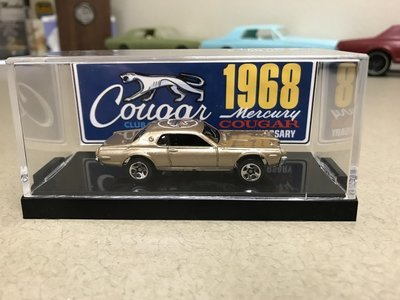 1968 50th Anniversary Collectible Die Cast Cougar (Gold)