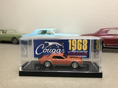 1968 50th Anniversary Collectible Die Cast Cougar (Orange)
