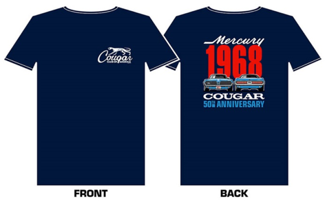1968 Cougar 50th Anniversary Shirt