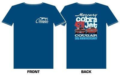1968 Cougar 428CJ 50th Anniversary Shirt