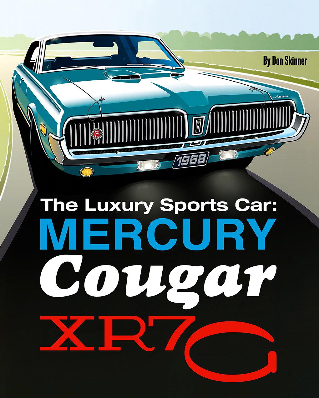 Mercury Cougar XR7-G Book