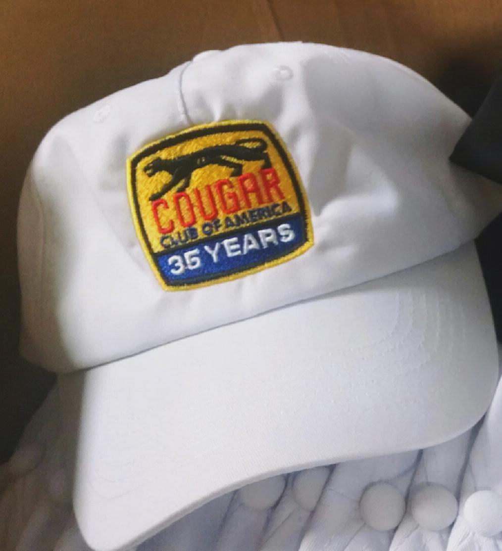 Cougar Club Hat - White