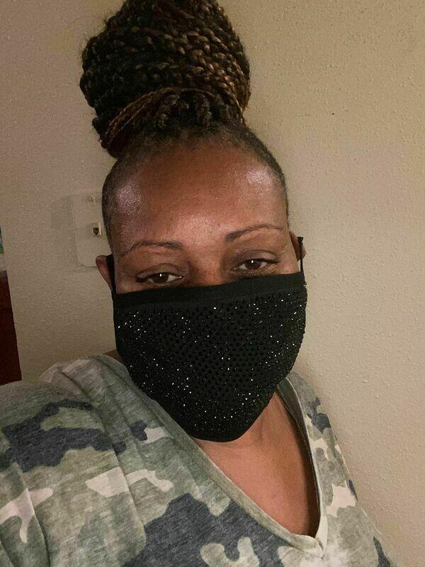 Bling Mask (Black)