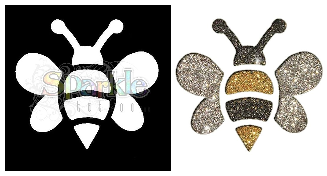 Bumblebee Stencil