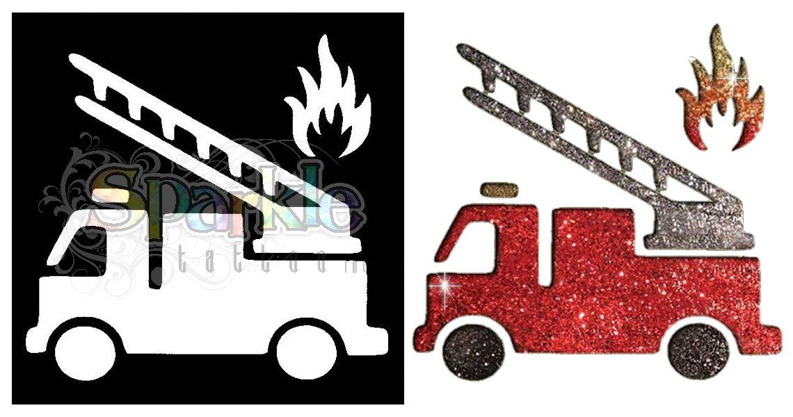 Firetruck Stencil